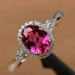 NEW women's fashion oval ring